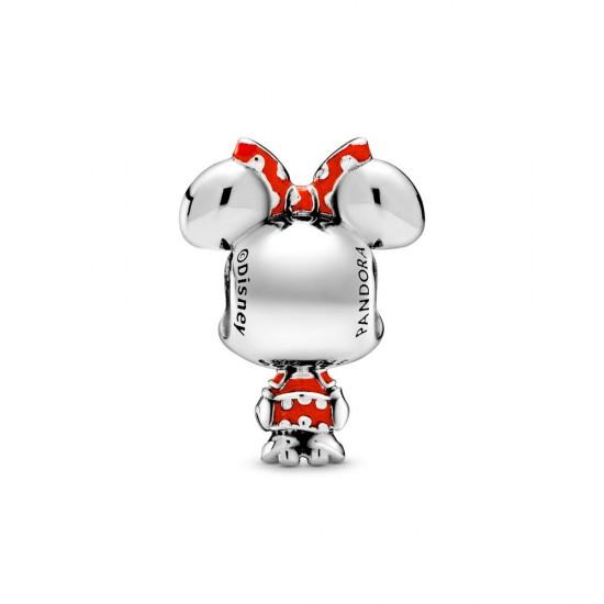 Pandora Disney Minnie Mouse Dotted Dress & Bow Charm