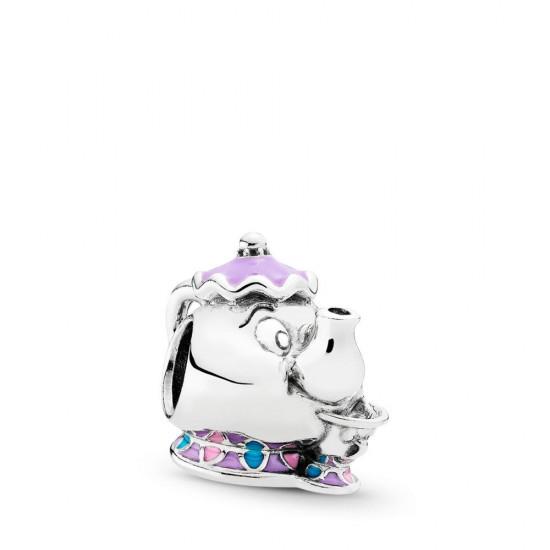Pandora Disney Mrs. Potts & Chip Beauty and the Beast Charm