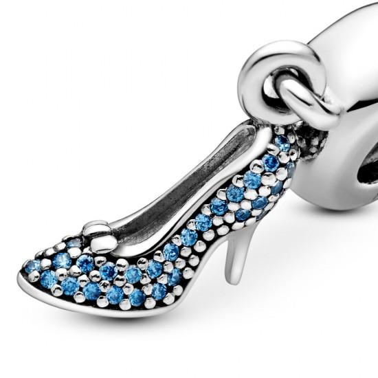 Pandora Disney Cinderella Pavé Slipper Dangle Charm