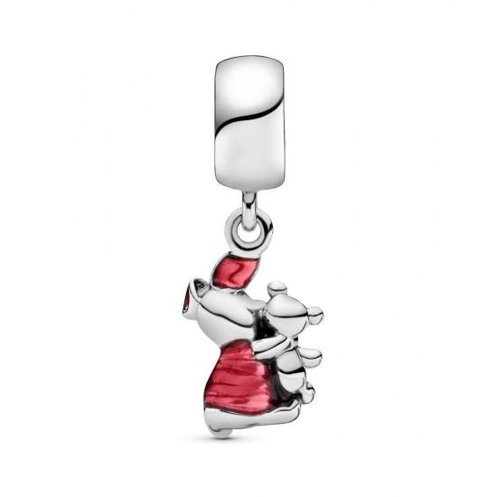 Pandora Disney Winnie the Pooh Piglet Dangle Charm