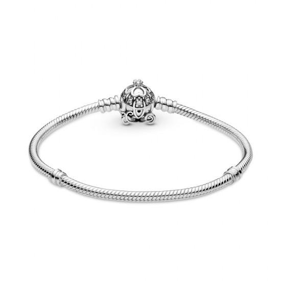 Disney Cinderella Pumpkin Coach Clasp Pandora Moments Bracelet