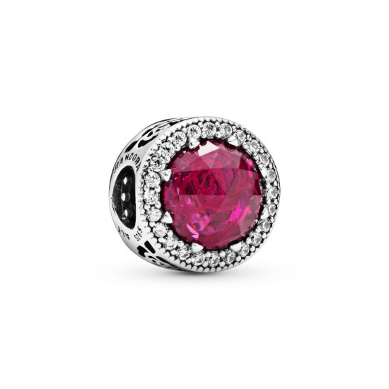 Pandora Disney Belle's Beauty and the Beast Pink Rose Charm