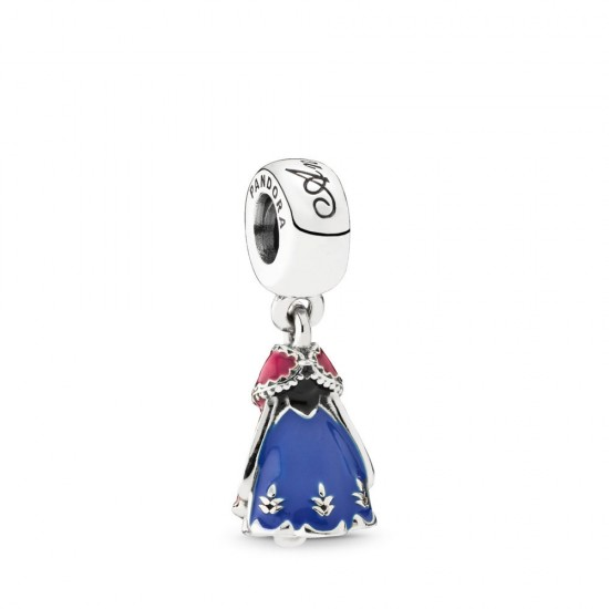 Pandora Disney, Anna's Dress Dangle Charm